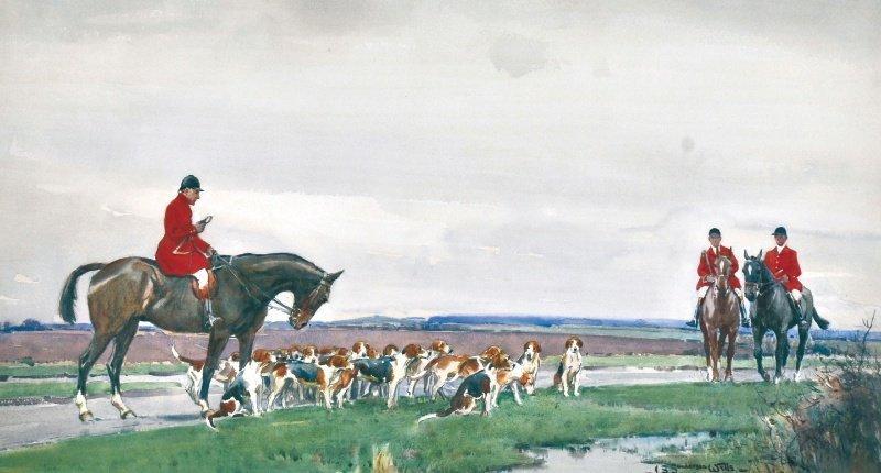 505: JOHN S. SANDERSON WELLS (1872-1955) BRITISH