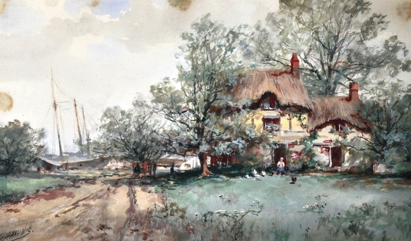 507: J. L. HARONS (LATE 19TH/EARLY 20TH CENTURY) DUTCH