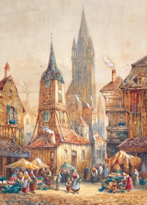 511: HENRY THOMAS SCHAFFER (1854-1915) BRITISH