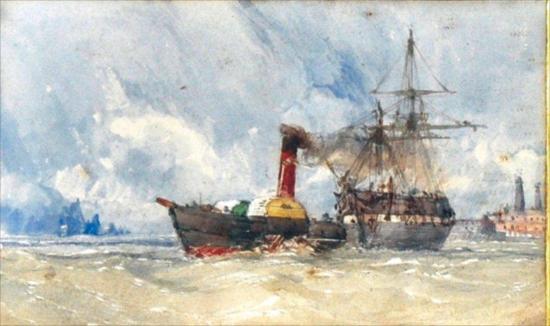 513: C. STANFIELD (1793-1867) BRITISH