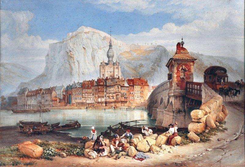 521: GEORGE CLARKSON STANFIELD (1828-1878) BRITISH