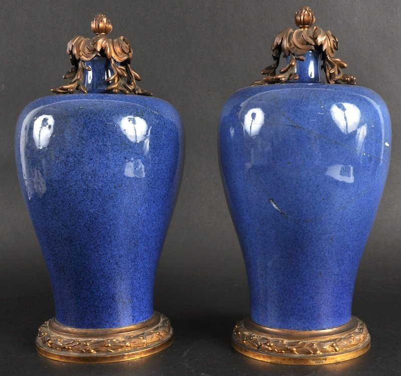 18:   A LOVELY PAIR OF 19TH CENTURY CHINESE MEI PING PO