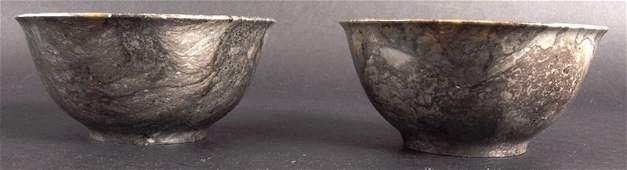 407: AN UNUSUAL PAIR OF EARLY 20TH CENTURY CHINESE HARD