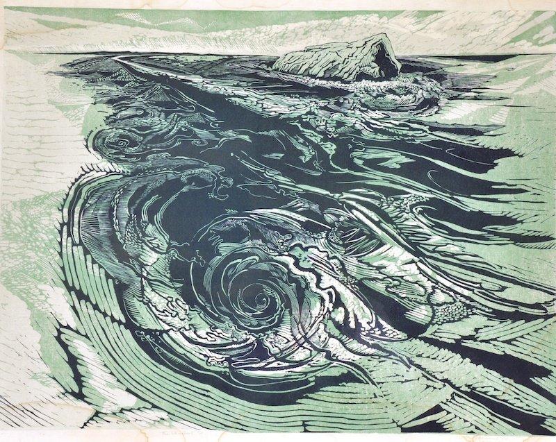 17: GERTRUDE HERMES (1901-1983) BRITISH - The Whirlpool