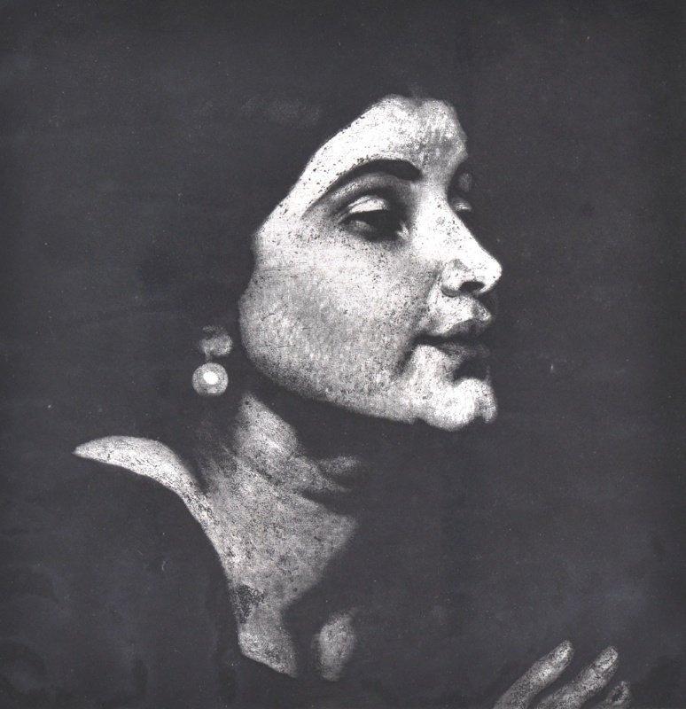 "18: DAME LAURA KNIGHT (1870-1977) BRITISH - ""Woman's He"