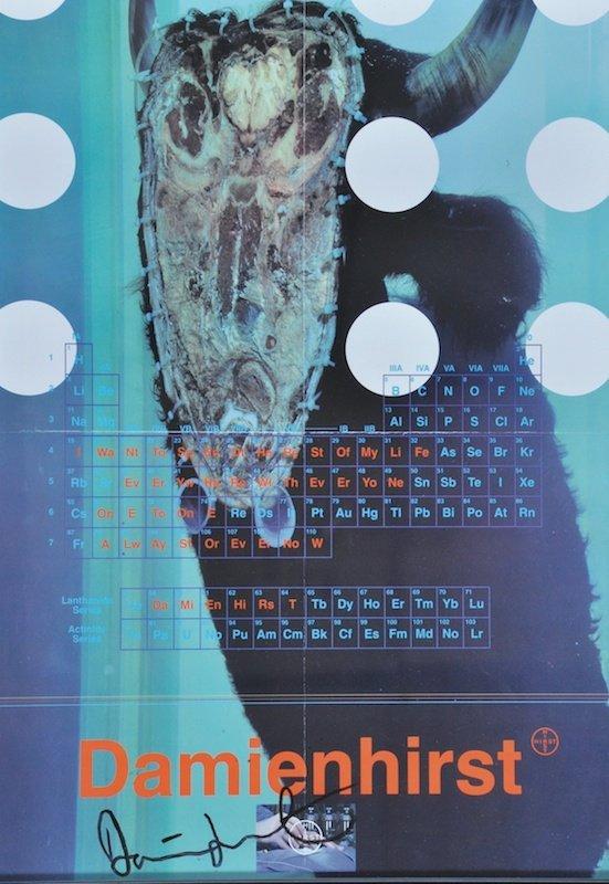 21: DAMIEN HIRST (1965- ) BRITISH - A Biopsy.  Signed e
