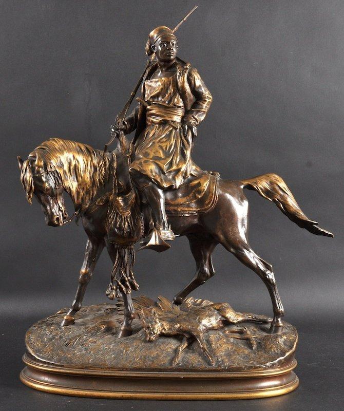 1160:  PIERRE JULES MENE (1810-1879) FRENCH.  A FINE PE