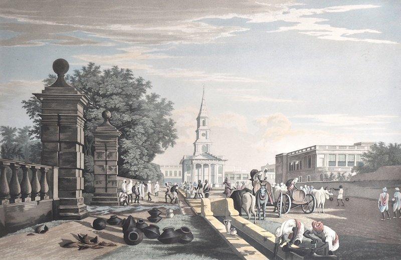 11:  James B Fraser (19th Century) British.  'View of S