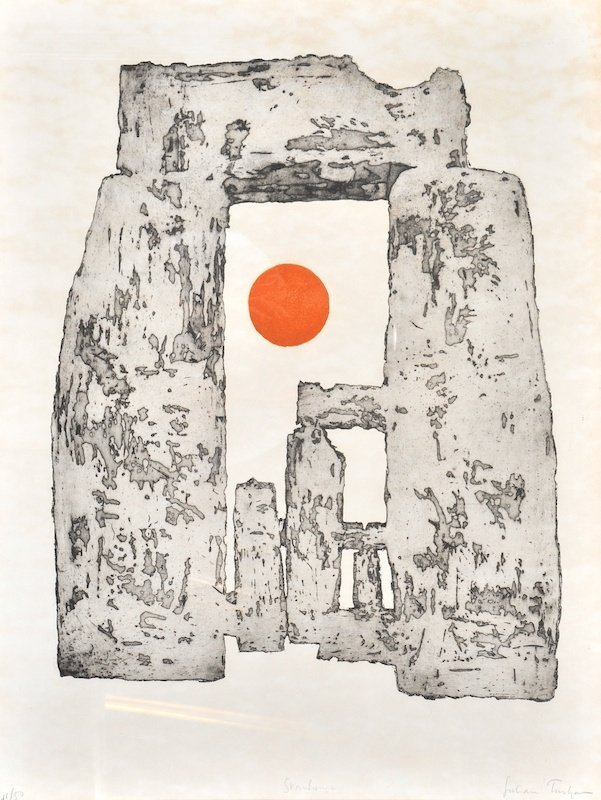 14:  Julian Trevelyan (1910-1988) British.  'Stonehenge