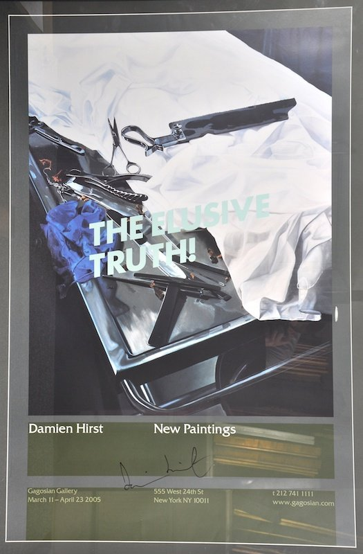 16:  Damien Hirst (1965- ) British.  'The Elusive Truth