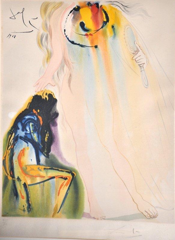 20:  Salvador Dali (1904-1989) Spanish.  'Dali 1968' a