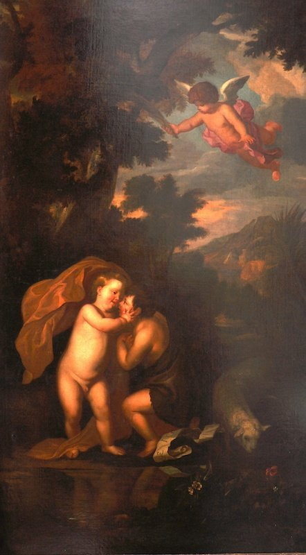 106:  Jacopo Amigoni (1682-1752) Italian.  The Infant S