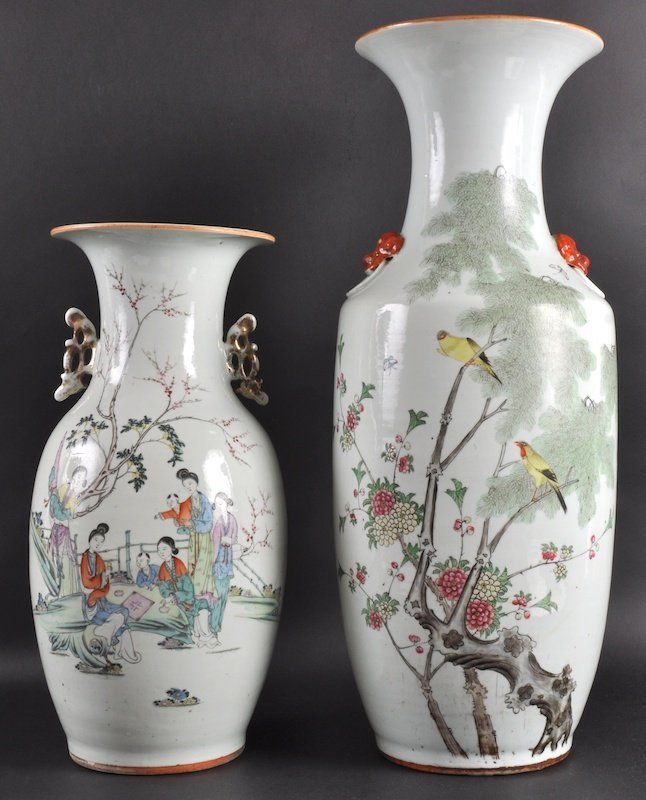 21:  A GOOD EARLY 20TH CENTURY CHINESE PORCELAIN ENAMEL