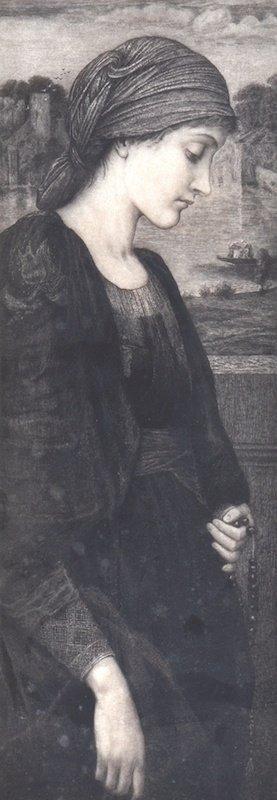 1001: Sir Edward Coley Burne-Jones (1833-!898) British.