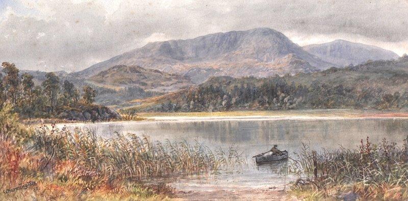 1021: Ebenezer Alfred Warmington (1830-1903) British. A