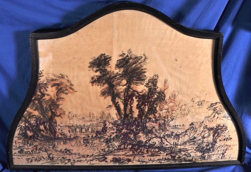 1027: 19th Century French School. A Classical landscape