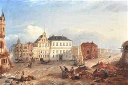 1090  James Vivian De Fleury 19th Century British