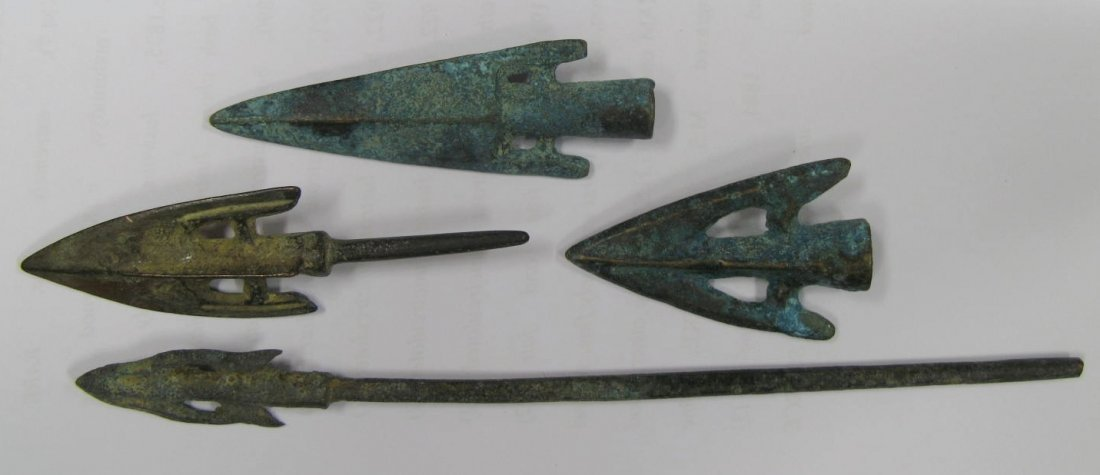 1312:  Greek / Scythian (3rd-1st cent. BC), bronze ince