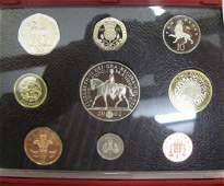 1398  Elizabeth II deluxe proof sets x 3 2001 2002