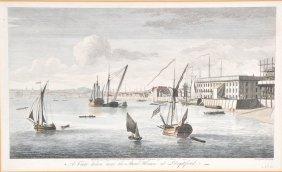 John Boydell (1719-1804) British. 'A View taken near th