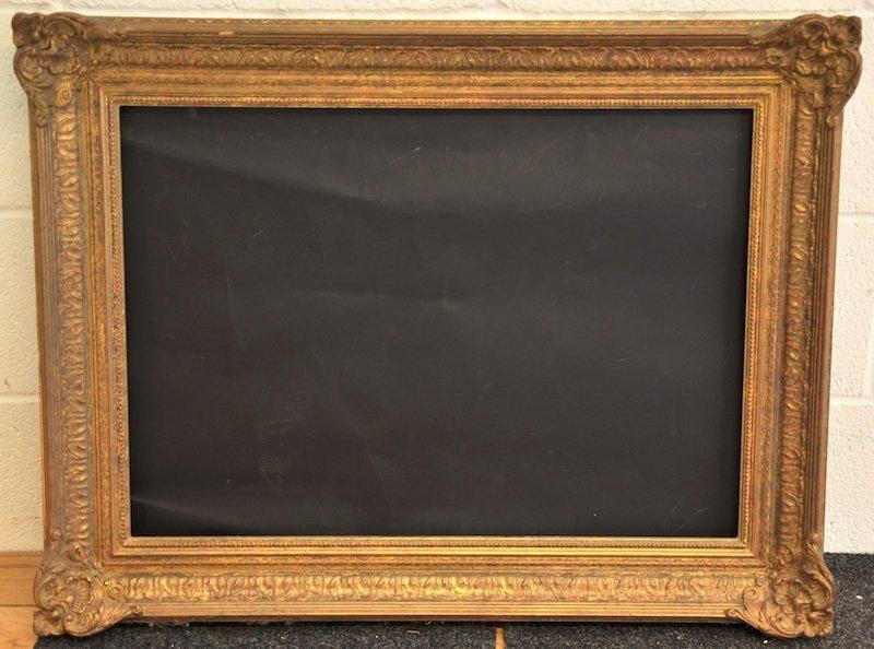 "20th Century English. A Modern Swept Frame, 27.6"" x 19."