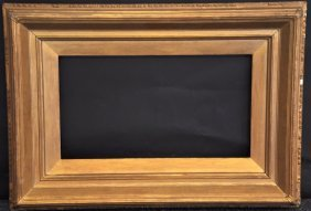 """19th Century English. A Composition Frame, 18"""" x 10""""."""