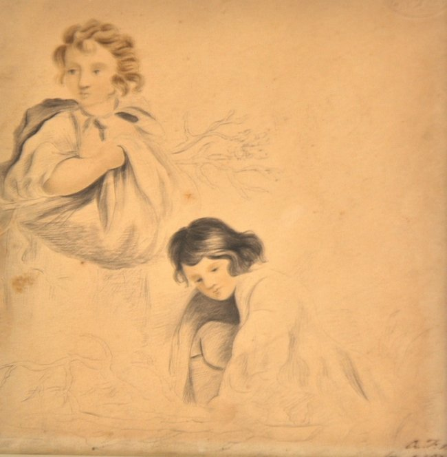 A… F… H… (Early 19th Century) British. A Study of two y