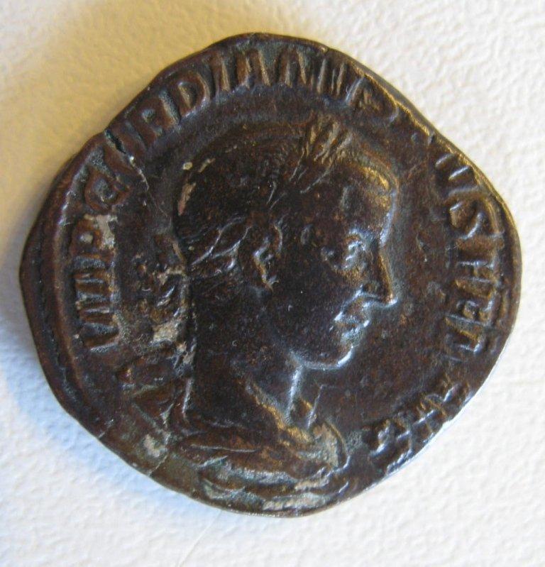 Gordian III (238-244), sestertius of Rome, Felicitas wi