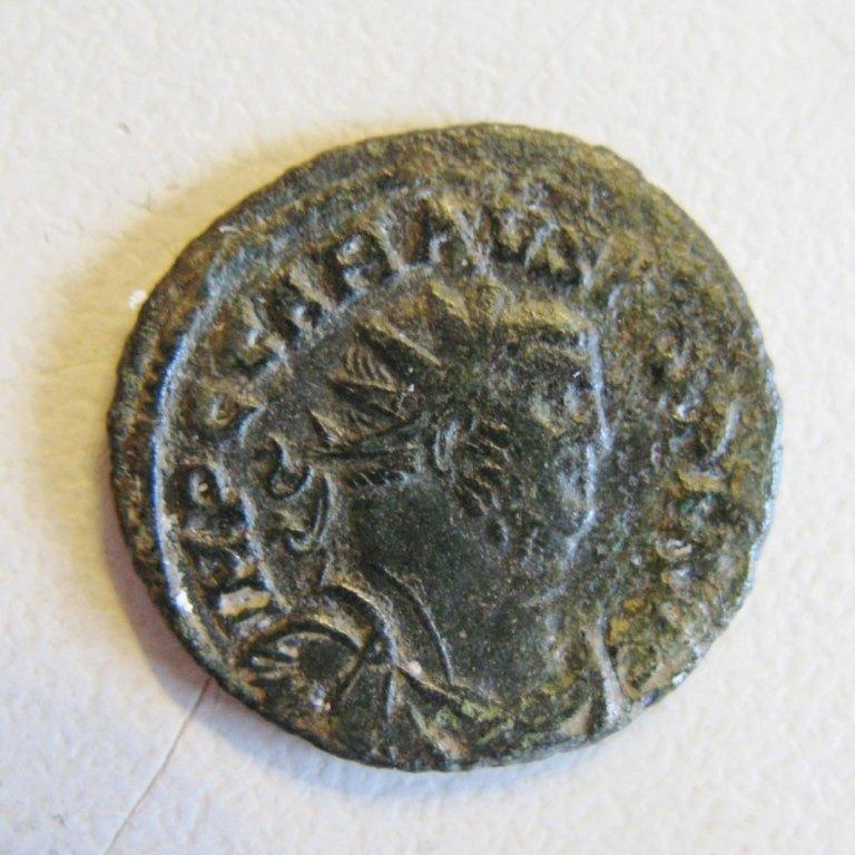 Carausius (287-293), bronze antoninianus, Providentia s