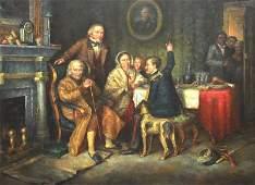 After; David Wilkie (17851841) British. Interior Scene