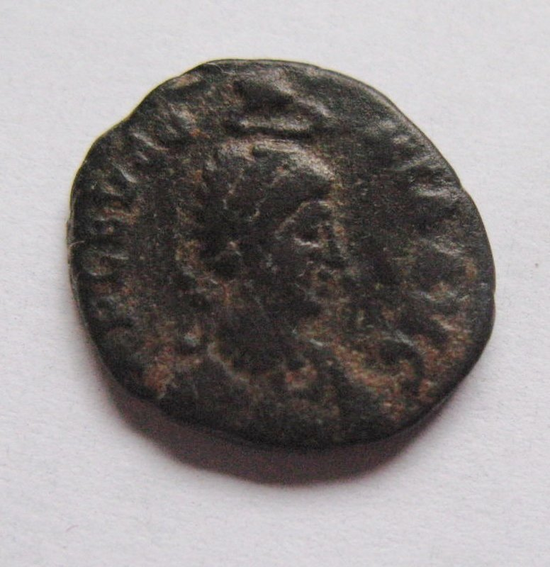 Eudocia (401-60), bronze AE3, fine or better, A RARE EM