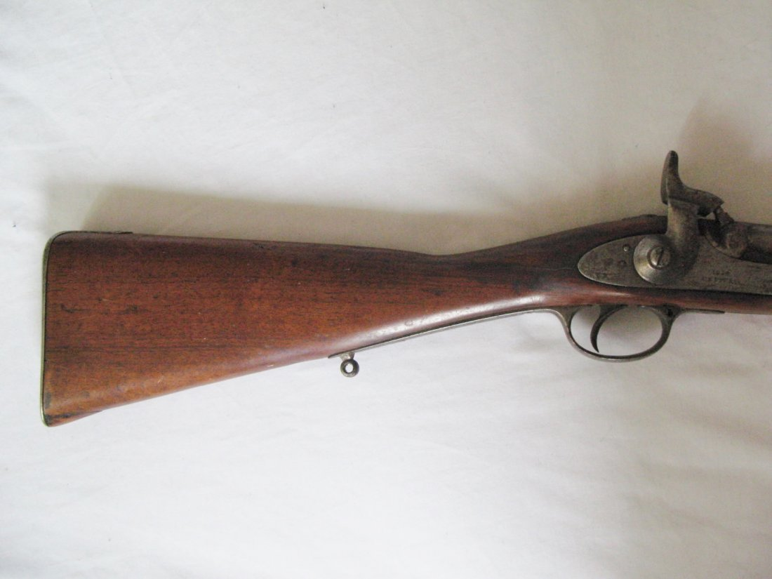 1859 pattern 2-band Enfield percussion rifle, .577 cal,