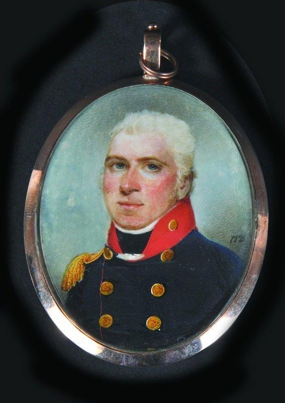 John Thomas Barber Beaumont (1771-1841) Portrait of Maj