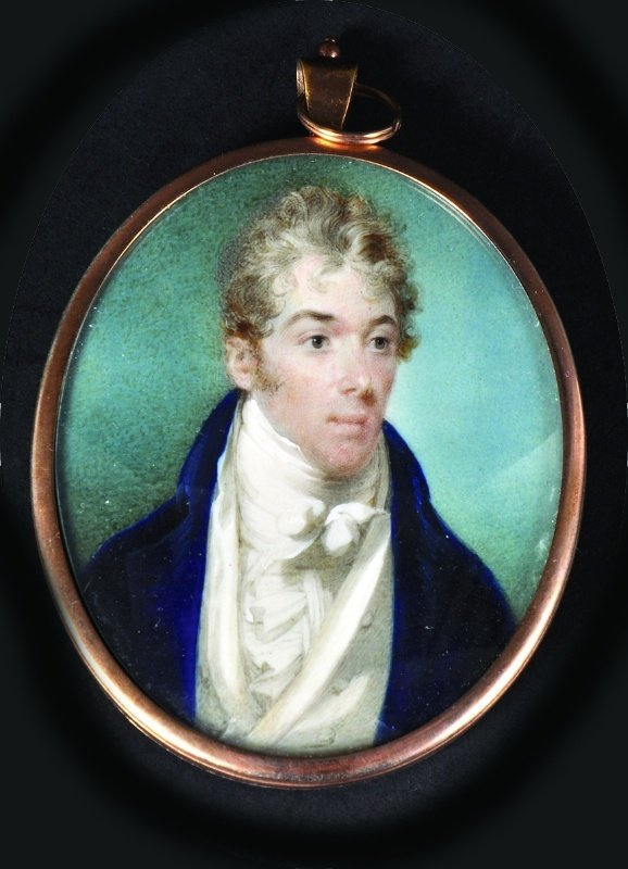John Thomas Barber Beaumont (1771-1841). Portrait Of A