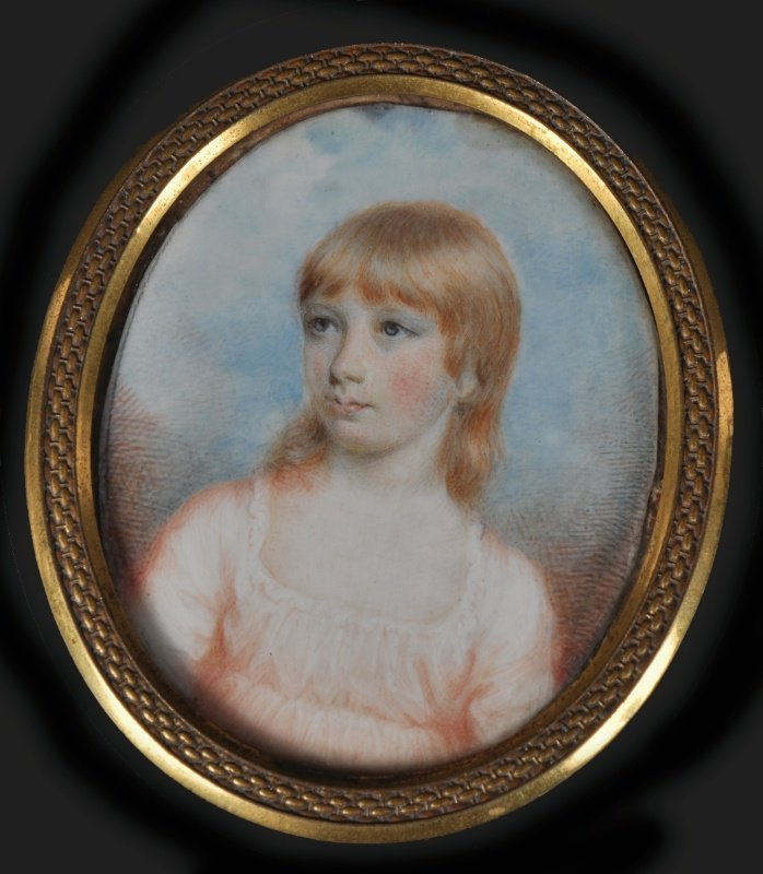 Mary Ann Knight (1776-1851) Portrait of a Young Girl, w