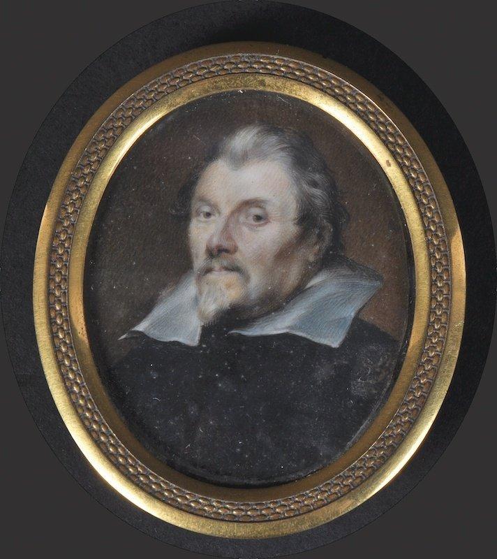 After Van Dyck (19th Century) Portrait of a Gentleman.,