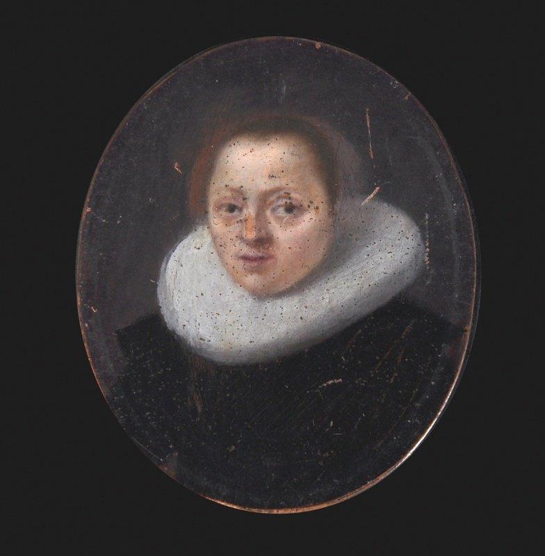 Flemish School (c.1640) Portrait of a Lady, wearing a b
