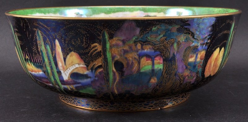 A SUPERB WEDGWOOD FAIRYLAND WORCESTER BOWL by DAISY MAK