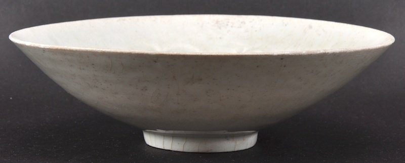 A CHINESE SUNG DYNASTY YINGQING FLARED BOWL 960 to 1279