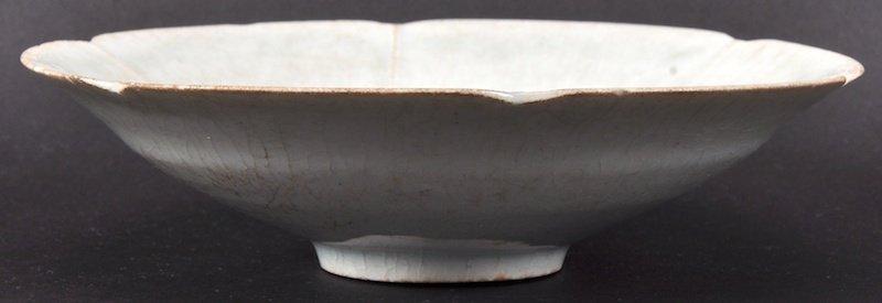 A CHINESE SUNG DYNASTY CIRCULAR FLARED DISH 960 to
