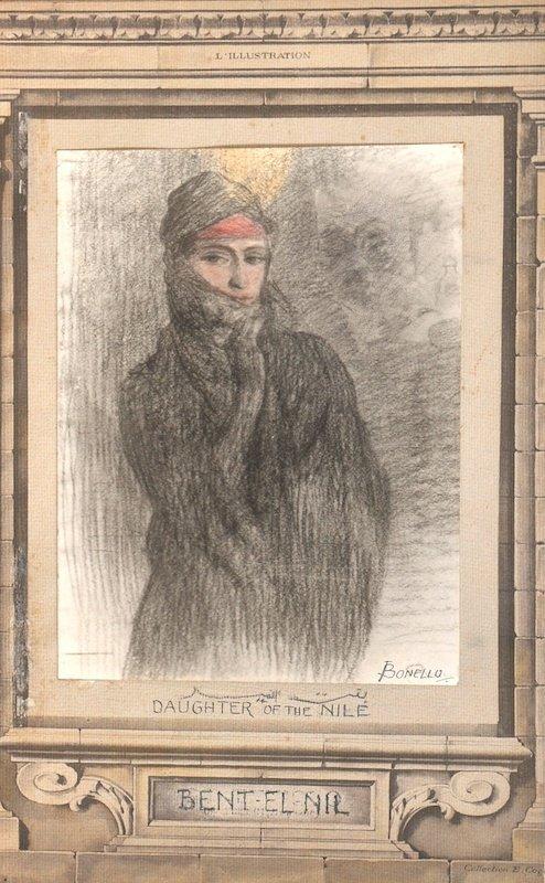 Joseph Bonello (1878-   ) French.  A Huge folio contain