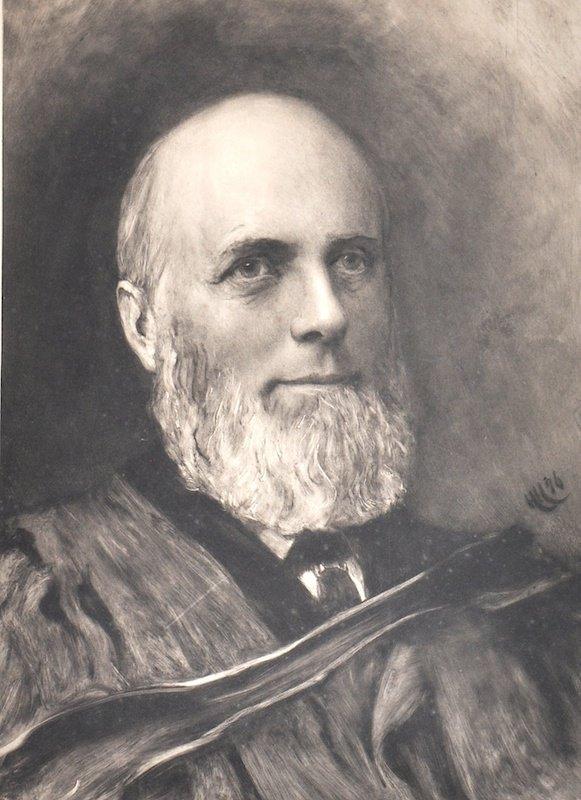 Hubert von Herkomer (1849-1914) British. Portrait of a