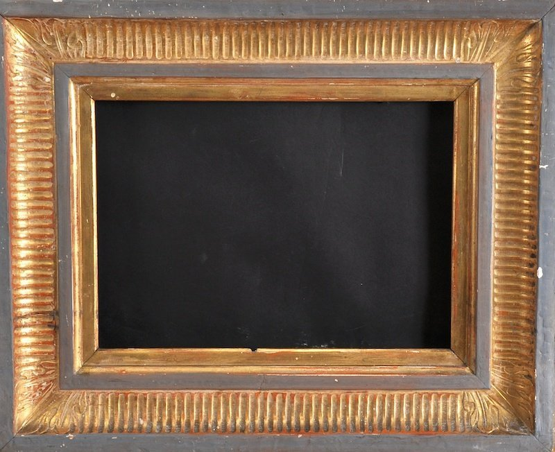 """A Gilt Composition Frame. 30"""" x 25"""", together with two"""