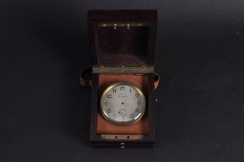 A SMALL CASED CHRONOMETER, R. MARECHAL, E.N.H. CLUSE'S.