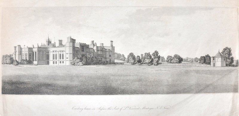 A Folio of Engravings. Including Two Views of Cowdray,