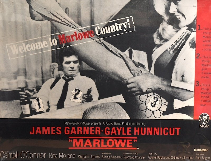 'Marlowe'. A Poster Inscribed 'Welcome to Marlowe