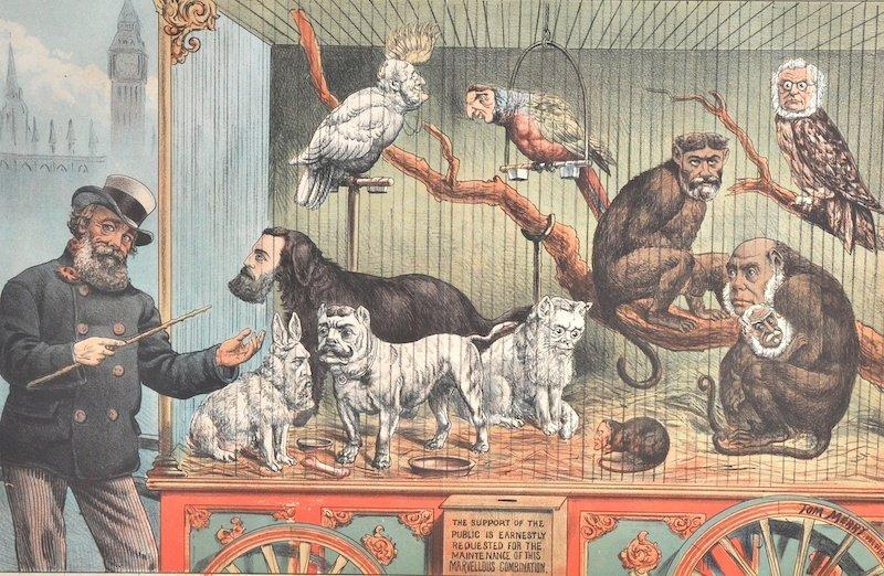 Tom Merry (c.1852-1902) British. 'The Happy (Union)