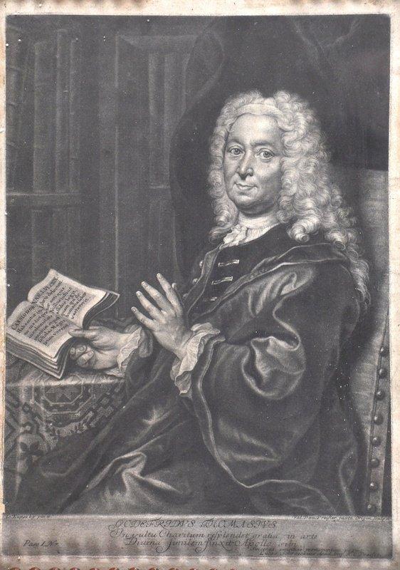 After Johann Kupezky (1666/7-1740) Hungarian. Portrait