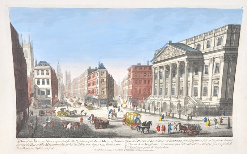 After Thomas Bowles (c.1712-c.1753) British. 'Mansion