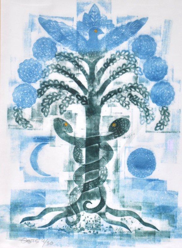Thetis Blacker (20th Century) British. 'Healing Tree',